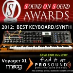 Moog Minimoog Voyager XL - Best Keyboard/Synth of 2011
