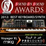 Moog Minimoog Voyager XL - Best Keyboard/Synth of 2011