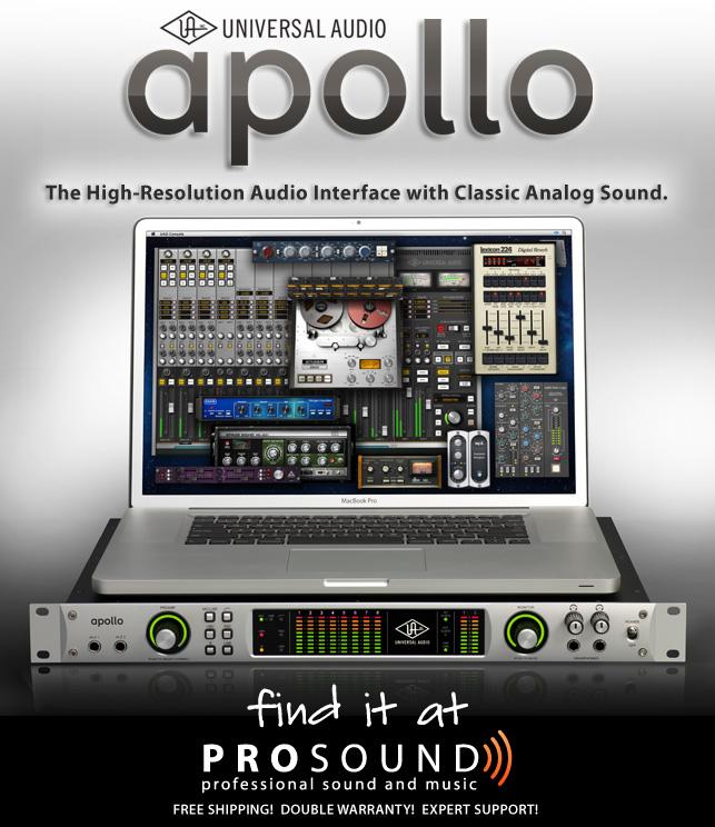Universal Audio Apollo San Diego