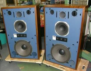 1977 JBL 4343 midformat studio monitor refurbishment & repair