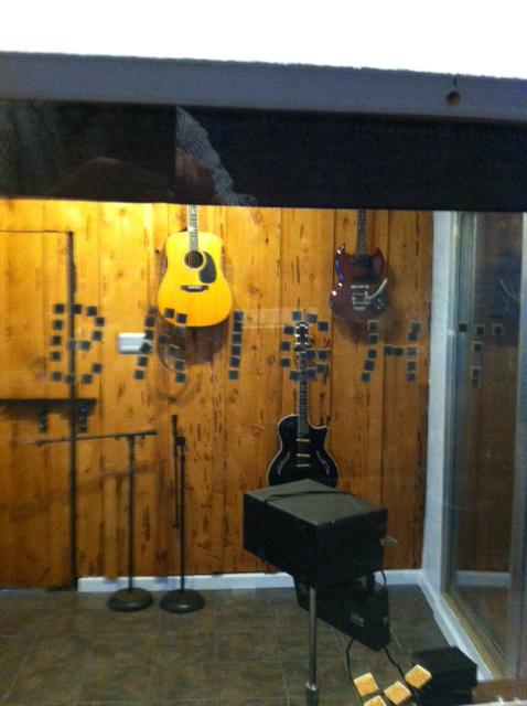 JP created the 'BRIGHT' room from original 70's cedar panels