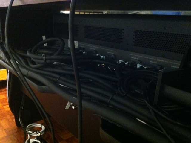 New Redco TT Patchbays and all-new TGS (the good stuff) cabling were fabricated and supplied