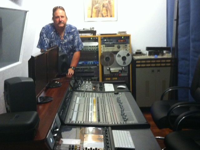 Ampex 16 track and 2 track tapes were brought to bay